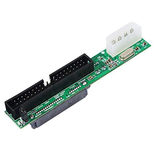 YAODHAOD Adapter SATA Buchse auf 40-poligen Stecker, 3,5 Zoll IDE, für PC und Mac Computer auf SATA Festplatten SATA F/3.5 M … (Klein)