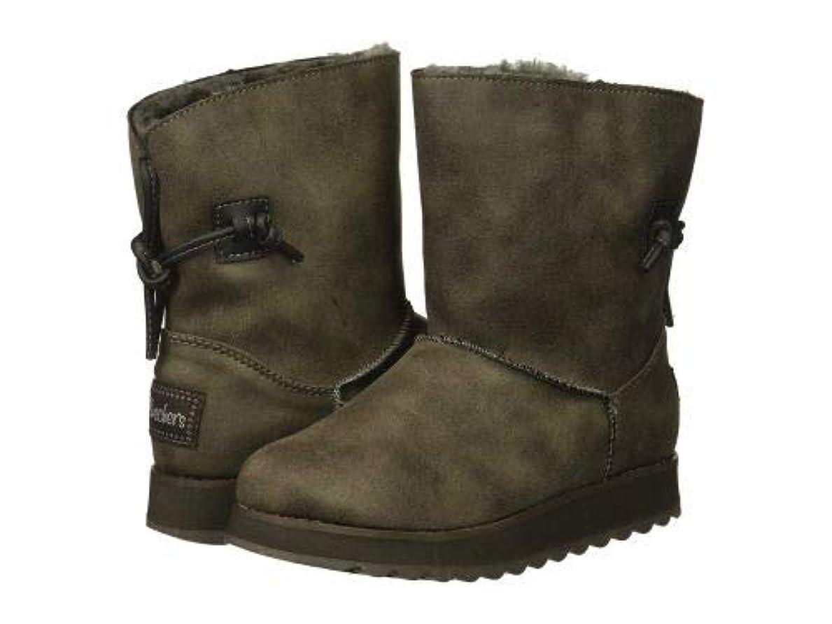 ブラウズ応答エールSKECHERS(スケッチャーズ) レディース 女性用 シューズ 靴 ブーツ スタイルブーツ アンクル ショートブーツ Keepsakes 2.0 - Charcoal [並行輸入品]