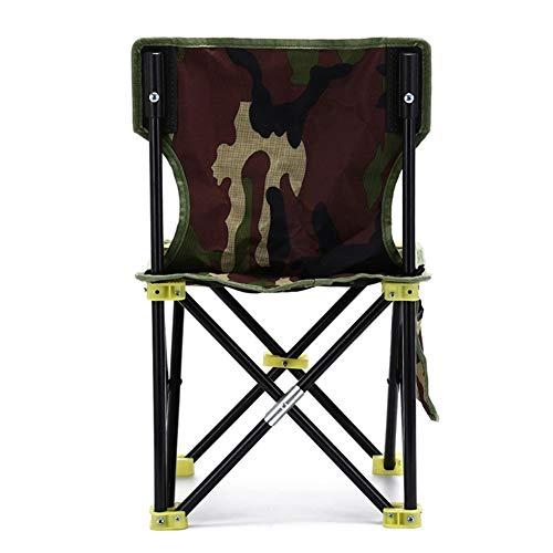qidongshimaohuacegongqiyouxiangongsi angelausrüstung Faltbare Tarnung Campingstühle for den Strand Picknickbänken Angeln Stuhl zum Ausruhen