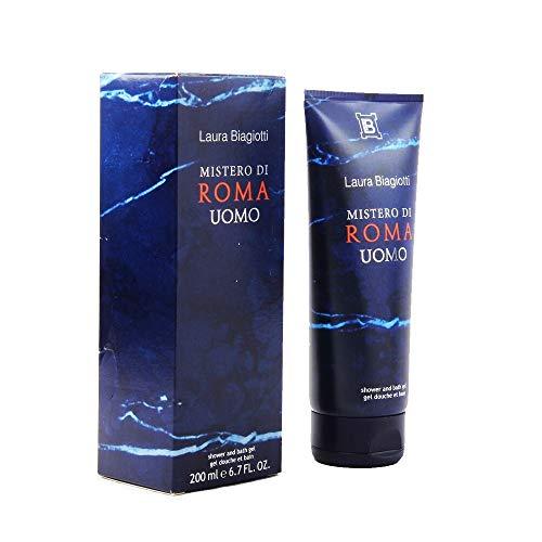 Laura Biagiotti Mistero Di Roma Herren shower gel 200ml