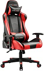 Perfect for Gaming: Gtracing is dedicated to make the best gaming chair for pro gamers. choose us, and improve your gaming experience. Ergonomic Design: Strong metal frame designed to help promote a comfortable seated position, keeping you comfy afte...