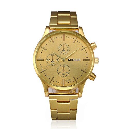 LYRICS Herren Armbanduhr Analog Display Quarz Diamant Uhren Mit Stilvolle Edelstahl Armband gewölbtem Glas Uhr Kreative Gedrucktes Muster Design Uhr Bauhaus-Stil Watch