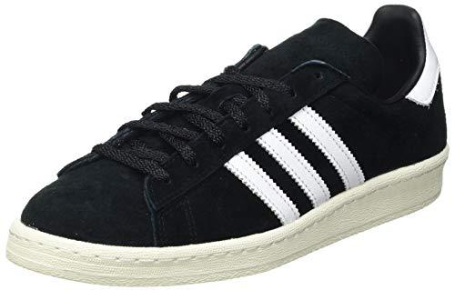 adidas Campus 80S, Sneaker Hombre, Core Black/Footwear White/Off White, 49 1/3 EU