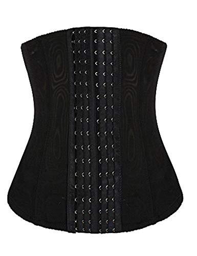 luxilooks Tummy Girdle Shaper Waist Trimmer Shapewear for Women Stomach(Black,2XL)