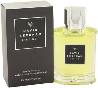 David Beckham Instinct Cologne By David Beckham 2.5 oz Eau De Toilette Spray For Men - 100% AUTHENTIC
