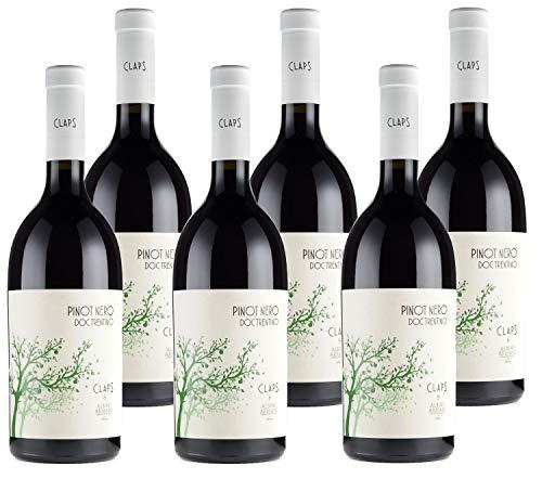 Albino Armani Claps Pinot Nero Trentino Doc - Scatola Da 6 X 75Cl - 4500 ml