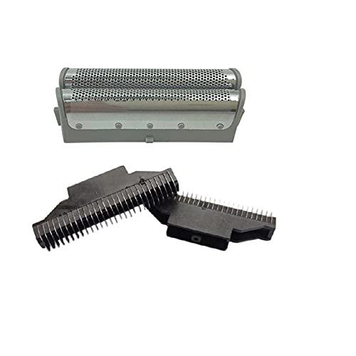 Recambio afeitadora Foil 2 pcs & cuchillas (2 PCS) apropiado para Panasonic Shaver Razor/cuchilla Cabeza es-rw30 es4035 es4033 es4027 es4853