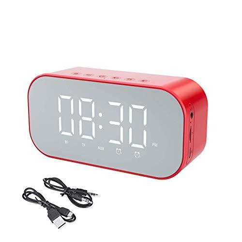 ZEH 1 Altavoz Bluetooth Wireless Pc Construir-en el micrófono de la Ayuda TF Tarjeta AUX multifunción Reloj Despertador FACAI