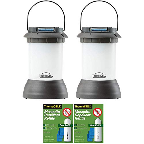 Thermacell Outdoor Bristol Mosquito Repeller Lantern and Refill Packs (2-Pack)