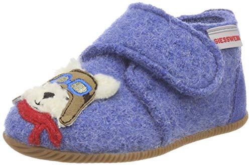 GIESSWEIN Lauflernschuhe Oetz - Warme Babyschuhe aus Wollfilz | rutschfeste Gummi Sohle | Hausschuhe für Babys | Klettverschluss | Krabbelschuhe
