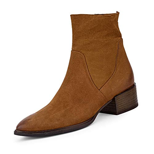Paul Green 9339 Damen Stiefelette Cognac, EU 39