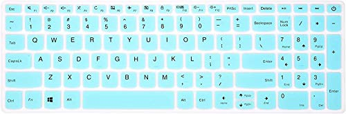 Keyboard Cover Compatible with Lenovo Yoga C940 C740 15.6, Thinkpad 15, ideaPad 130 320 330 520 330s 720s L340 S145 S340 S540 520 720s 15.6, 17.3\' ideapad 320 330 L340 Laptop - Mint