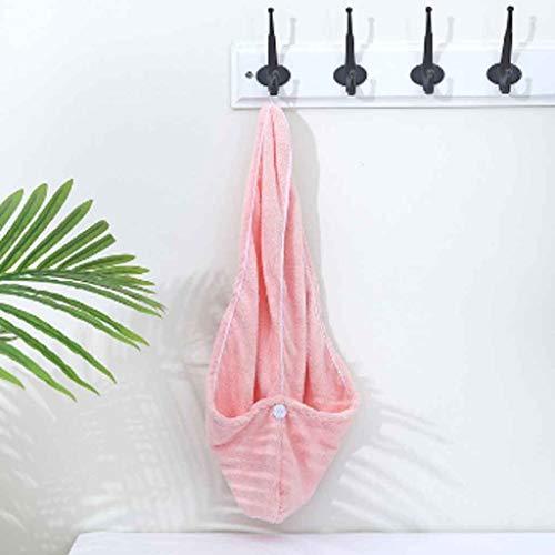 XYZMDJ Toalla de baño de Microfibra Gruesa de Secado rápido súper Absorbente de baño para Mujer (Color : Pink)