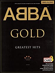 Abba: gold - greatest hits singalong pvg (book/audio download) piano, voix, guitare+telechargement