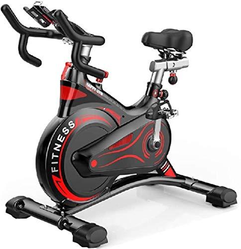Bicicleta estática profesional de interior con brazo grande acolchado de rueda de...