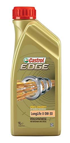 Castrol Edge Longlife II 0W-30 9089100336 - Aceite de motor (12 L, 12 x 1 L)