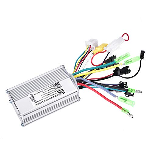 Asixx Motor Controller, 36V / 48V 350W Motor-Bürstengeschwindigkeitsregler oder Motordrehzahlregler, Brushless-Motorsteuergerät mit LCD-Panel