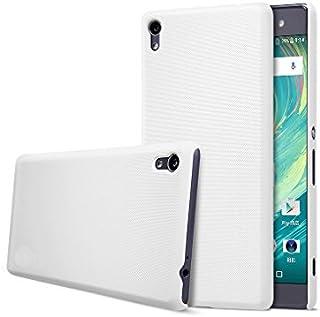ソニー Sony Xperia XA Ultra専用 6インチ 磨き砂面 携帯用ケース スマートフォン保護カバー「522-0087-02」 (ホワイト)