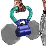 Yes4All Unisex-Erwachsene TPH9 Kettle Grip Griff zum Umwandeln von Hanteln in Kettlebells für Workouts – kinetisches Grün & Psychic, C. Kinetic Green/Psychic Purple