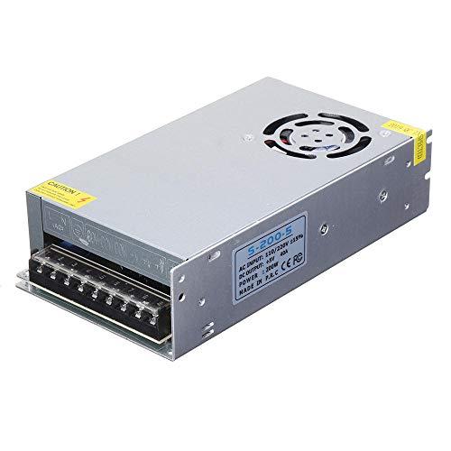Modulo electronico 200 * 110 * 50 mm AC110V / 220V a DC 5V 40A 200W con ventilador Fuente de alimentación conmutada