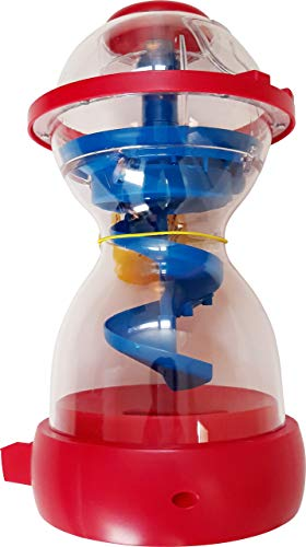 "M&M Candy Dispenser Fun Machine Swirl Action Red and Blue 10"" x 5"""