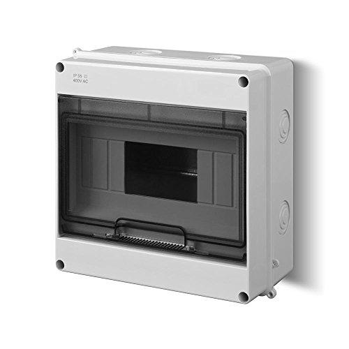Sicherungskasten Verteilerkasten Aufputzverteiler 9 Module Aufputz IP40
