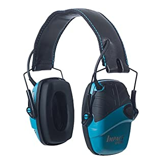 Howard Leight by Honeywell Impact Sport Sound Amplification Electronic Shooting Earmuff, Teal (B00IB15S1Q)   Amazon price tracker / tracking, Amazon price history charts, Amazon price watches, Amazon price drop alerts