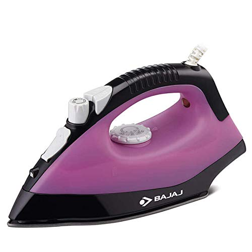 Bajaj MX 16 1400-Watt Steam Iron (Purple)