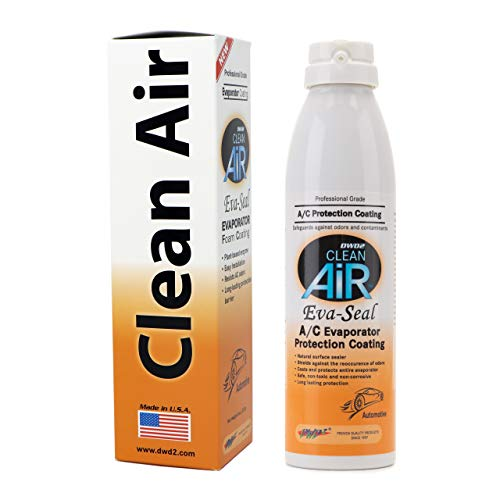 DWD2 Clean Air EvaSeal Automotive A/C Evaporator Protection Coating - Shield Your A/C from Harmful Contamination 6 Month Protection! (1)