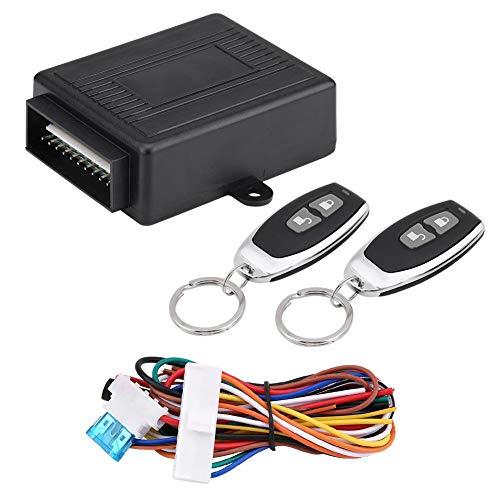 Cerradura central para automóvil, cerradura universal para puerta de automóvil Sistema de entrada sin llave Bloqueo centralizado Kit de control remoto