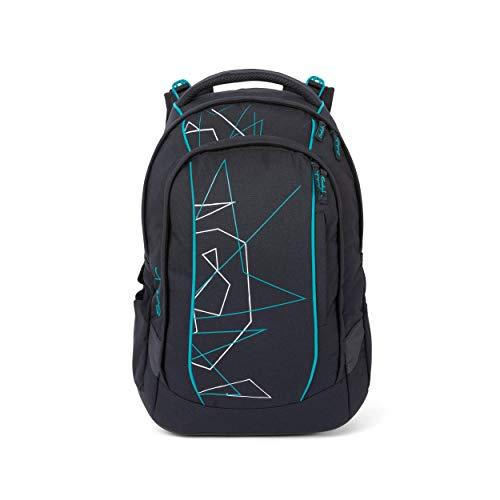 satch Sleek Freeze, ergonomischer Schulrucksack, 24 Liter, extra schlank, Blau