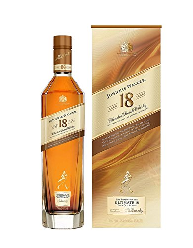 Photo of Johnnie Walker Aged 18 Years Blended Scotch Whisky 70cl with Gift Box