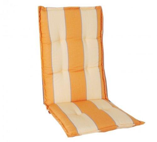 Coussin de fauteuil à dossier haut, du. 908–01P Housse 100% polyester, avec volant plat