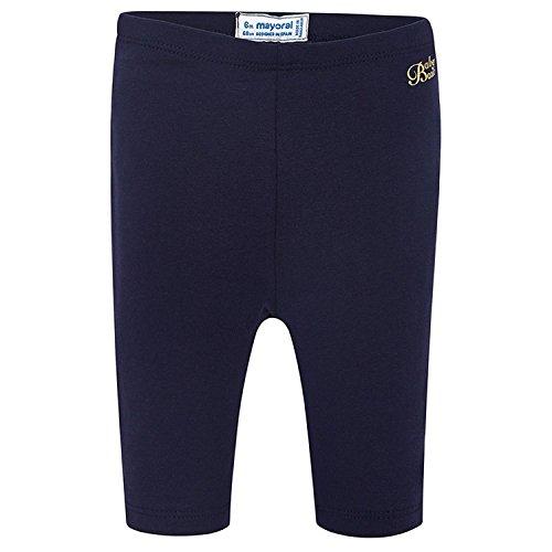 Mayoral - baby meisjes capri-legging lang eenkleurig, donkerblauw - 706