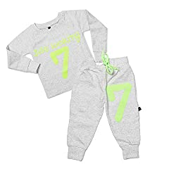 F-0-9 Toddler Baby Boy Girls Top+Pants Outfits Tracksuits