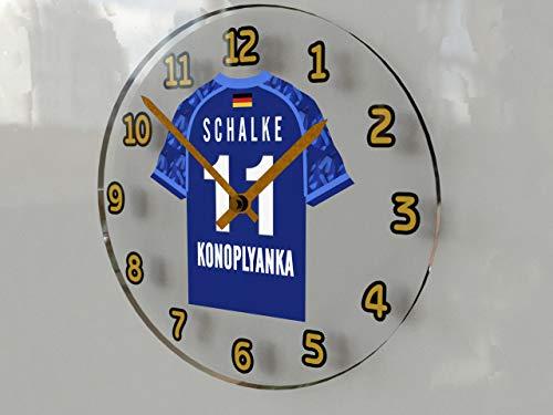 MyShirt123 Wanduhr, FC SCHALKE 04, Stück: 1