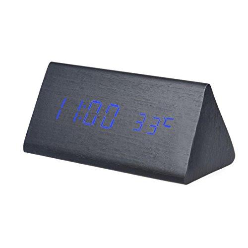 Despertador Digital Madera  marca Hanshi