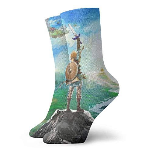 Calcetines de baloncesto para hombre y mujer, calcetines divertidos 3D