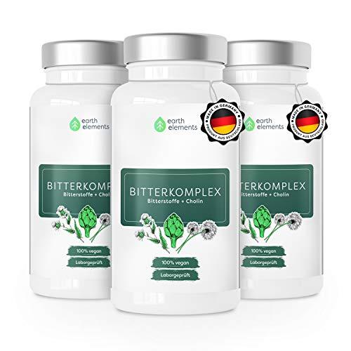 Mariendistel, Artischoke, Löwenzahn & Cholin 6-fach Komplex (für eine normale Leberfunktion) hochdosiert mit 80% Silymarin - Deutsche Premium Qualität ohne Zusatzstoffe (3 Monat Kur)