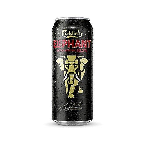 24 Dosen a 0,5L Elephant Carlsberg Starkbier Extra strong 10,5% vol. Bier Elefant inc. 6 Euro EINWEG Pfand