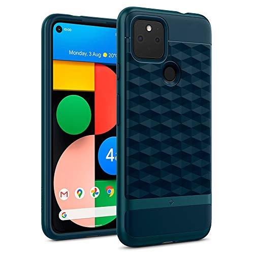 Hülleology Parallax Hülle Kompatibel mit Google Pixel 4a 5G - Aqua Green
