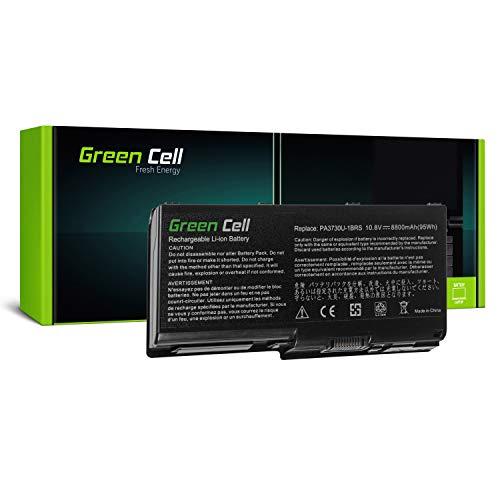 Green Cell Standard Serie PA3730U-1BRS Laptop Akku für Toshiba Qosmio G60 X500 X505, Toshiba Satellite P500 P505 (12 Zellen 8800mAh 10.8V Schwarz)
