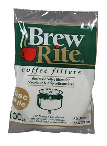 Kaffeefilter für 7,6 und 8,9 cm Perkolator 600 Count Brew Rite