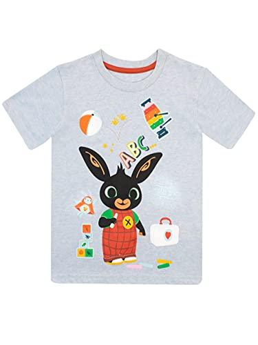 Bing Maglietta per Ragazzi Bunny Blu 2-3 Anni