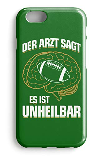 shirt-o-magic Handyhülle American Football: .es ist unheilbar - Case -iPhone 8 Plus-Kelly Green