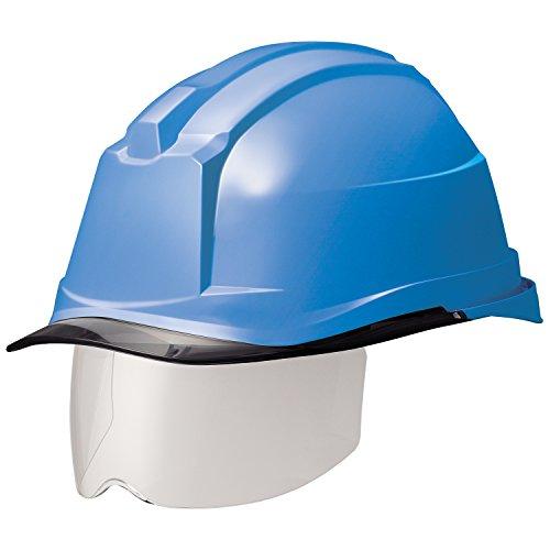 ミドリ安全 ヘルメット 一般作業用 電気作業用 スライダー面 SC19PCLS RA3 αライナー付 ブルー/スモーク