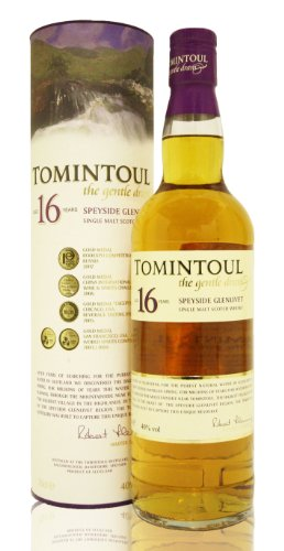Tomintoul 16 Years Speyside Single Malt Scotch Whisky 40% 0,7l Flasche