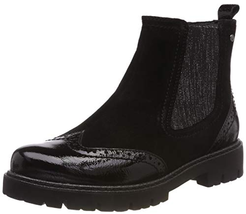 Be Natural Damen 25400-21 Chelsea Boots, Schwarz (Black 001), 38 EU