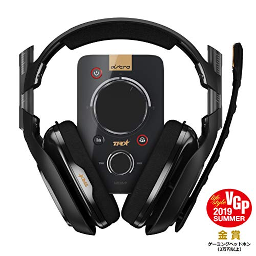 Logicool G Astro A40TR Casque + MixAmp Pro TR (Noir) A40tr-map 【 Japon Domestic véritable Produits 】 【 Expédié Depuis Le Japon 】