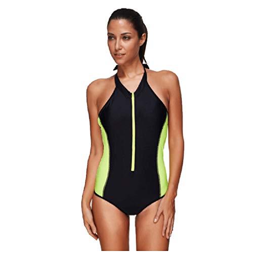 QinMM Surfanzug für Frauen - langärmeliger Ausschlag zum Schnorcheln - 1,5-mm-Uv-Schutz-Tauchanzug